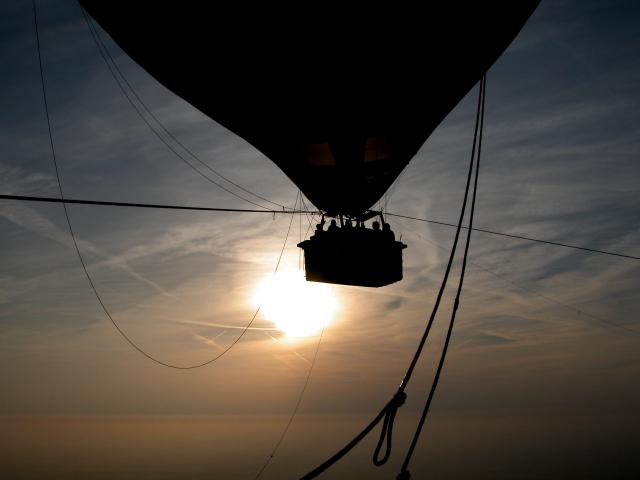 Ballonvaart Amersfoort-Skydining