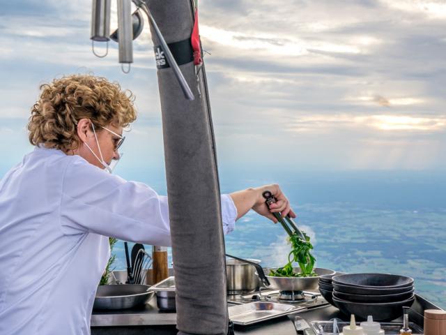 Culinaire ballonvaart-bijzonder uit eten-Michelin